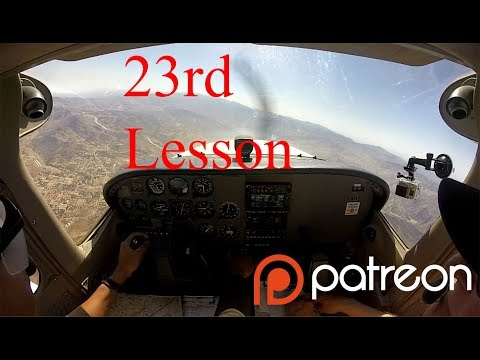 Private Pilot Lesson 23 — Lost Scenario Under Hood