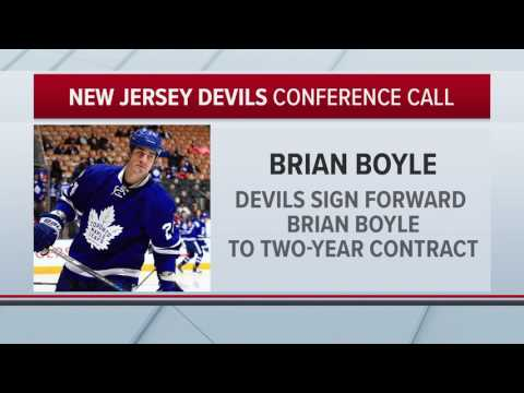 Brian Boyle: I'll Fit In Well With the New Jersey Devils