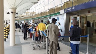 Chinese exodus at JKIA - VIDEO