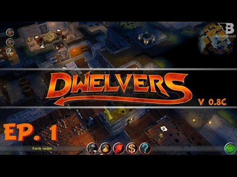 A New Dungeon Keeper -  Ep. 1 - Dwelvers - Let's Play
