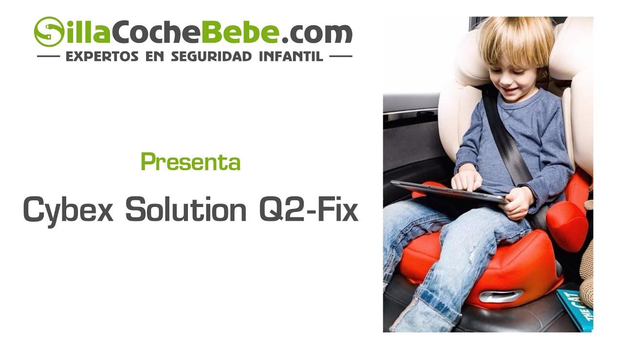 cybex solution q2 fix cybex premium youtube. Black Bedroom Furniture Sets. Home Design Ideas