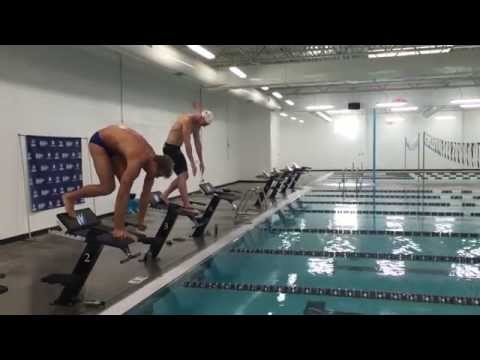 Matt Grevers and Josh Davis | 25 Yard Butterfly with Underwater Video
