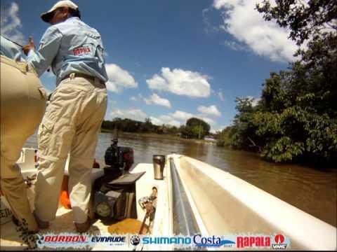 Un Dia de pesca en Caño Negro con Rapala Vmc & Shimano Pro Staff Francisco Mejias.