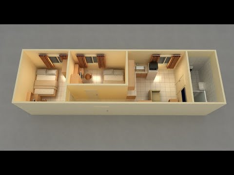 40 Foot Shipping Container House Design Container House