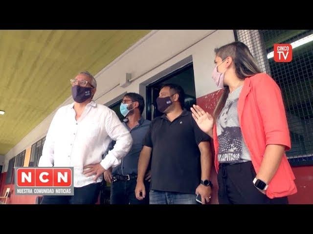 CINCO TV - Julio Zamora supervisó la puesta en valor de espacios públicos en El Talar