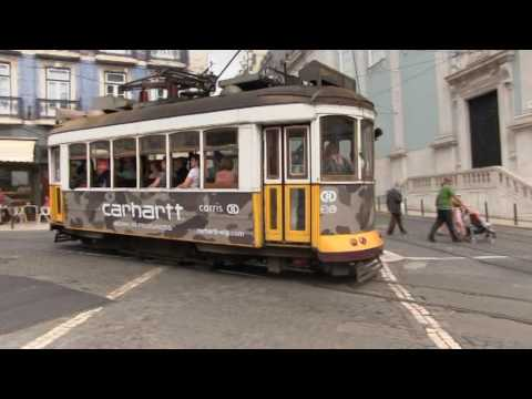 Lisbon Trams, scenes from the Lisbon, Portugal, tramway system.