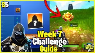 Dusty Divot Treasure Map + NEW Road Trip Skin | S5 Week 7 Challenge Guide - Fortnite