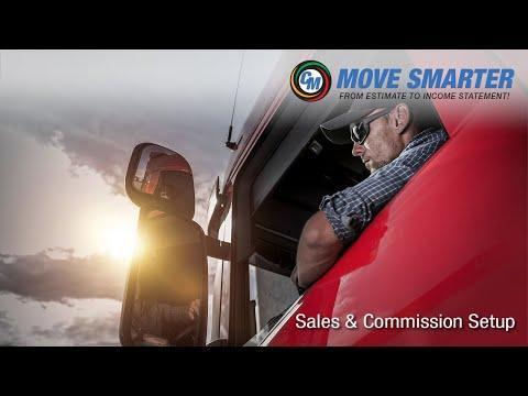Sales & Commission Account Setup