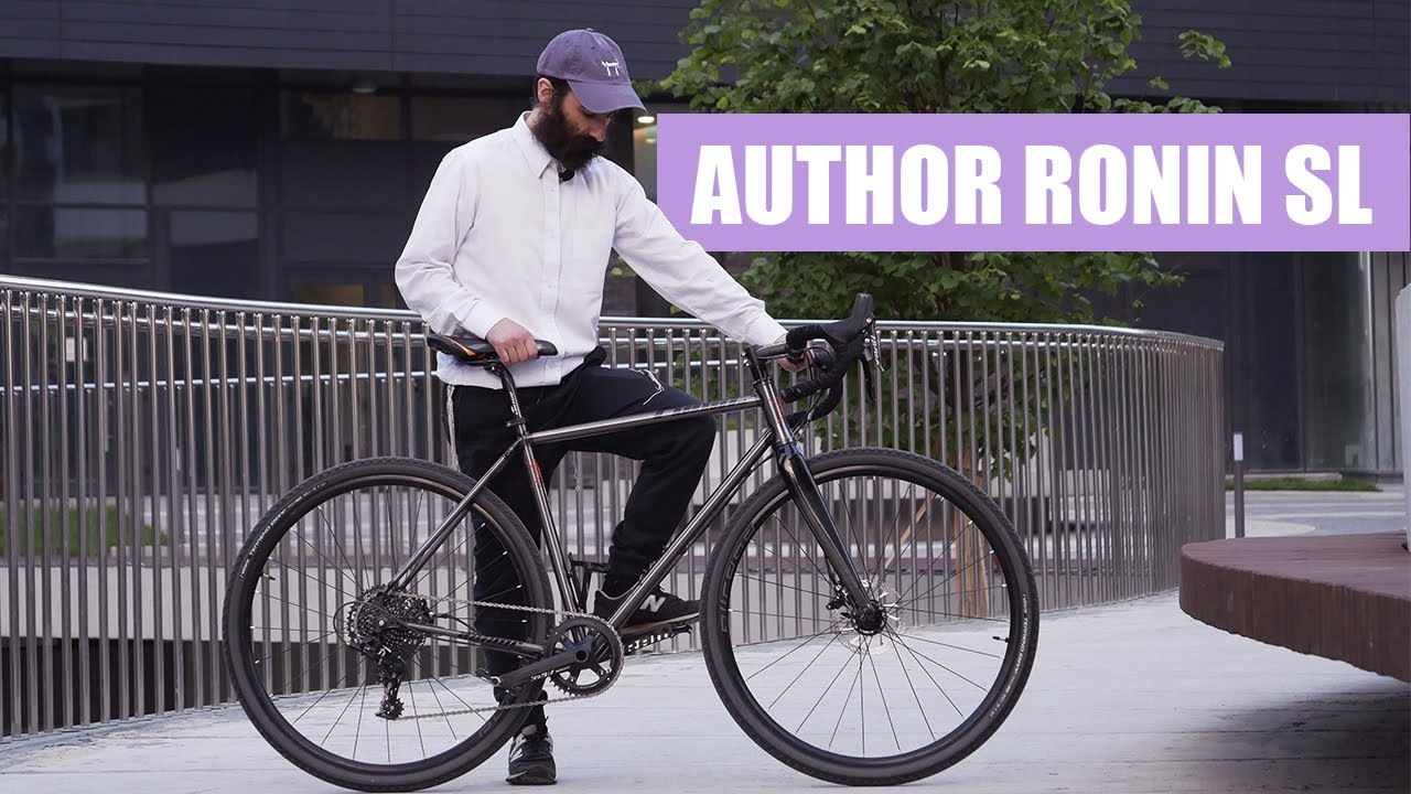 Велосипед  для туризма Author Ronin SL | Review of gravel bike