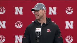 Scott Frost previews Iowa