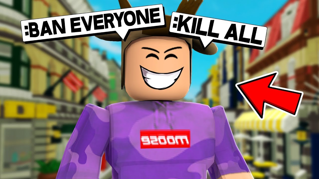 Abusing Admin Powers In Roblox Roblox Admin Commands Youtube