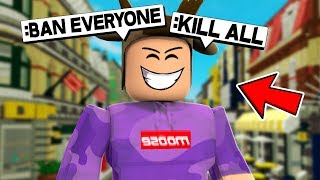 ABUSING ADMIN POWERS IN ROBLOX! *ROBLOX ADMIN COMMANDS*