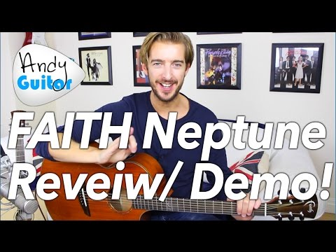 FAITH Neptune Cutaway/Electro Guitar Review + Demo