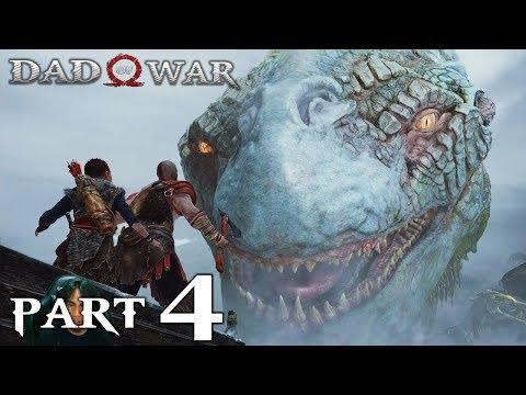 GOD OF WAR 4 - Gameplay Walkthrough Part 4 - The World Serpent