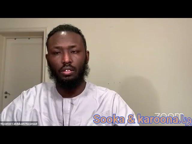 الصيام والكرونا Soonka iyo karoonaha