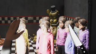 Soy VANNY y METO a TODOS Los NIÑOS En ANIMATRONICOS! ¿ FINAL ?| FNAF The Killer in Purple Simulator