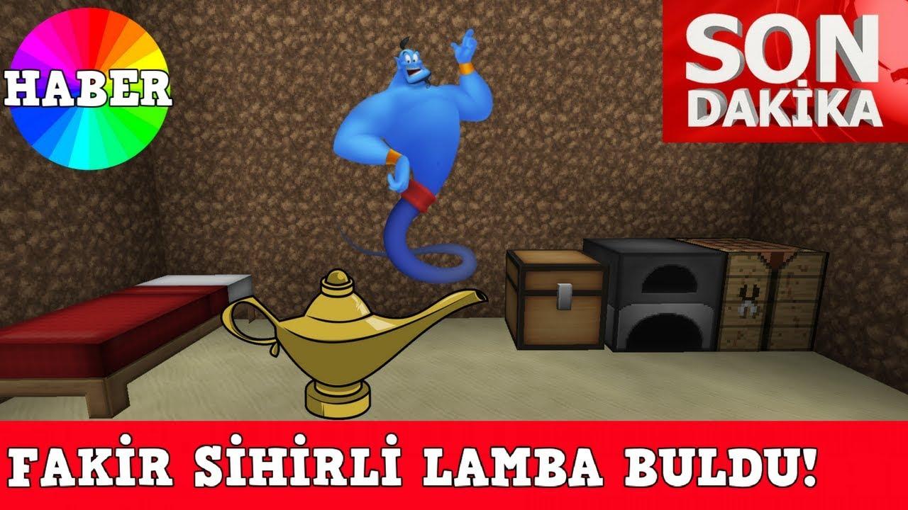 ZENGİN VS FAKİR #50 - Aladdin'in Sihirli Lambası (Minecraft)