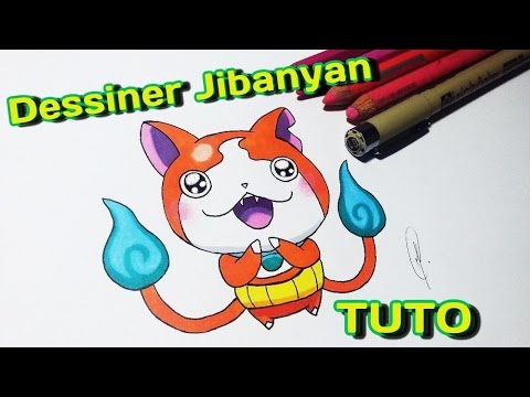 Dessiner Jibanyan De Yokai Watch Etape Par étape Tutoriel Fr