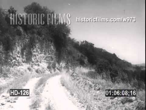 HISTORIC FILMS HD COLLECTION - MOUNTAIN ROAD DRIVING SHOTS, CHINESE HARBOR, OIL FIELD DRIVING SHOTS