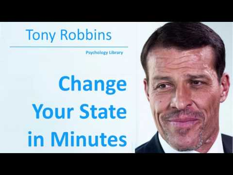 Tony Robbins Helps You Change Your State in Minutes - Psychology audiobook