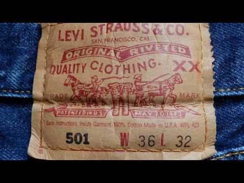 Levis501バレンシア工場膝のたたき修理【修理工房Jeans B】
