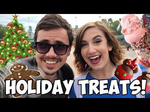Disneyland Christmas Desserts!