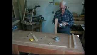 How To Build The Dowelmax Tv Stand Part 3 - Joining The Rails To Inner Verticals And Corner Posts