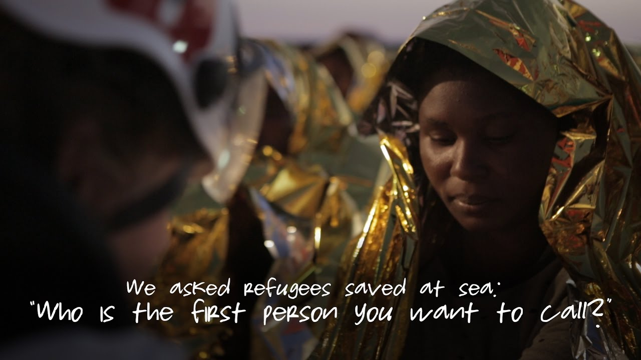 We Asked Refugees Saved At Sea Who Is The First Person You Want To Call