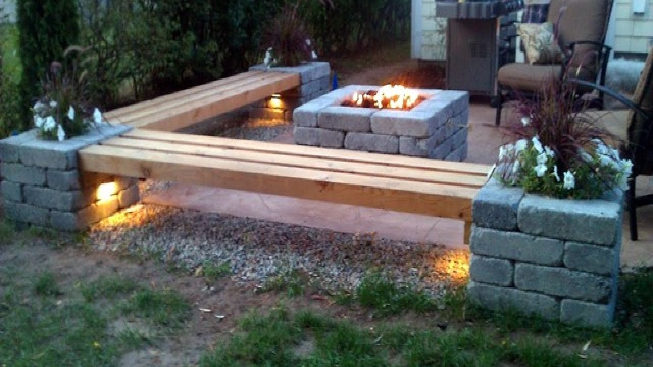 Amazing Fire Pit Design Ideas 2017 - Stone steel and Wood Creative Fire Pit  Part 3