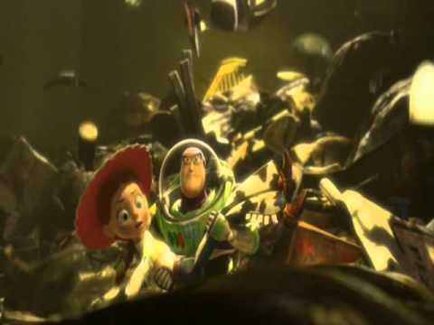 Toy Story 3 - Spanish Buzz rescues Jessie