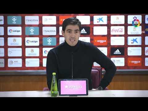 Rueda De Prensa De  Andoni Iraola Tras El UD Almería Vs CD Mirandés (3-1)