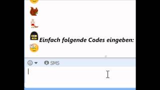 Geheime Skype-Smileys+Animations [Tutorial]