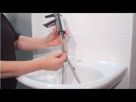 Монтаж смесителя с гигиеническим душем Oras Optima Smart Bidetta F2703 (santehimport.ua)