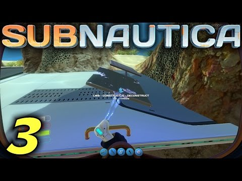 "Subnautica Gameplay / Let's Play (S-5) -Ep. 3- ""Solar Panels"""