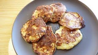 Panqueques De Plátano / Flourless Banana Pancakes / Sin Harina Receta FÁcil