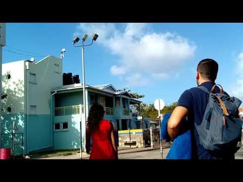BoatYard Beach Barbados, Drone Footage, Walking In Bridgetown On Sunday, Impressed & Guided By Drunk