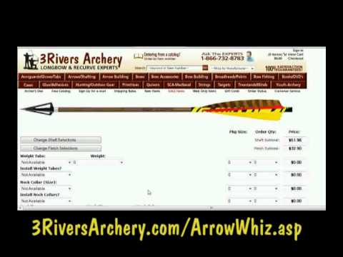 3Rivers Archery Arrow Whiz Tutorial