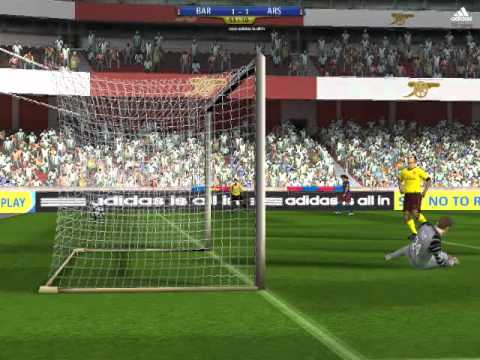 FC Barcelona Vs Asenal 2 - 1