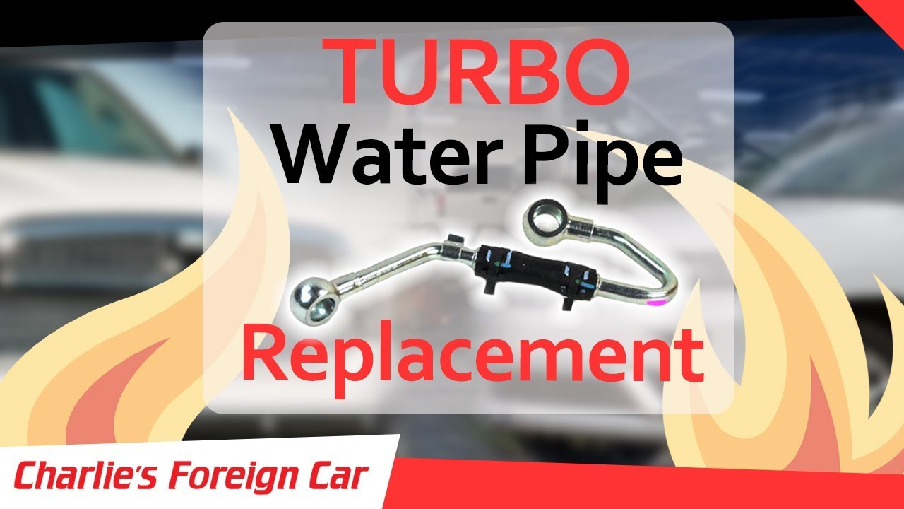 "Dodge / Jeep Coolant Leak - Replacing the ""Turbo Water Pipe"""