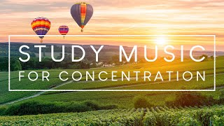 Music For Concentration And Focus While Studying - 3 Hours of Ambient Study Music
