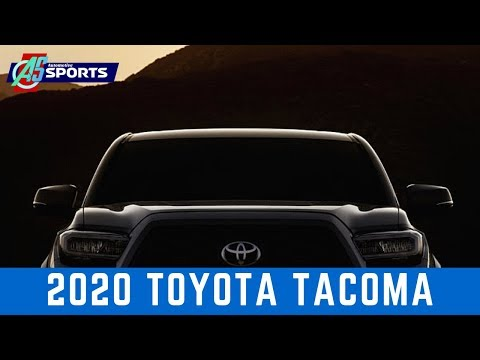 2020 Toyota Tacoma teased ahead of Chicago Auto Show debut