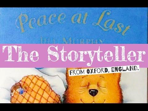 'Peace at last' - Written by Jill Muprhy
