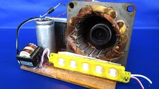 Electric Free energy experiment Using Motor in Magnets - Science DIY projects 2018