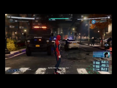 Marvel Spider-Man Let's Play FR : #13 Choc financier.