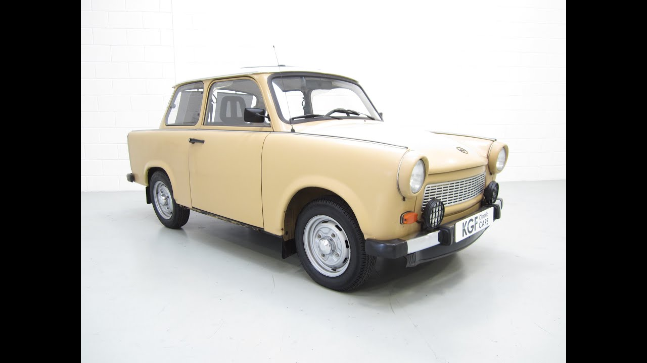a quirky trabant 601s deluxe in excellent condition with just 27 583 miles from new sold. Black Bedroom Furniture Sets. Home Design Ideas