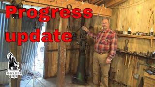 Progress update on the shop
