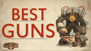 BEST GUNS in Bioshock Infinite - Hand Cannon & Sniper Rifle