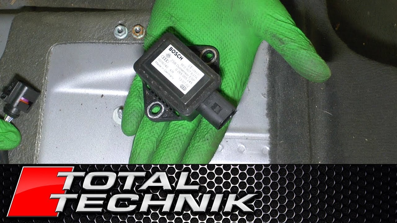How to Remove YAW Sensor - Audi A6 S6 RS6 - C5 - 1997-2005 - TOTAL TECHNIK