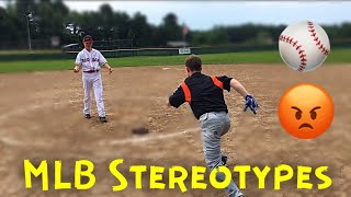MLB STEREOTYPES | MCC TrickShots (Inspired by Dude Perfect)