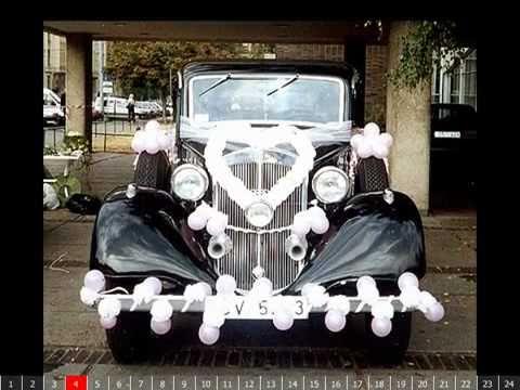 Trang trí xe cưới theo phong cách Châu Âu